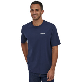 Patagonia P-6 Logo T-shirt Homme, classic navy